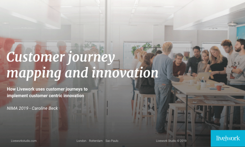 Customer journey mapping & innovation