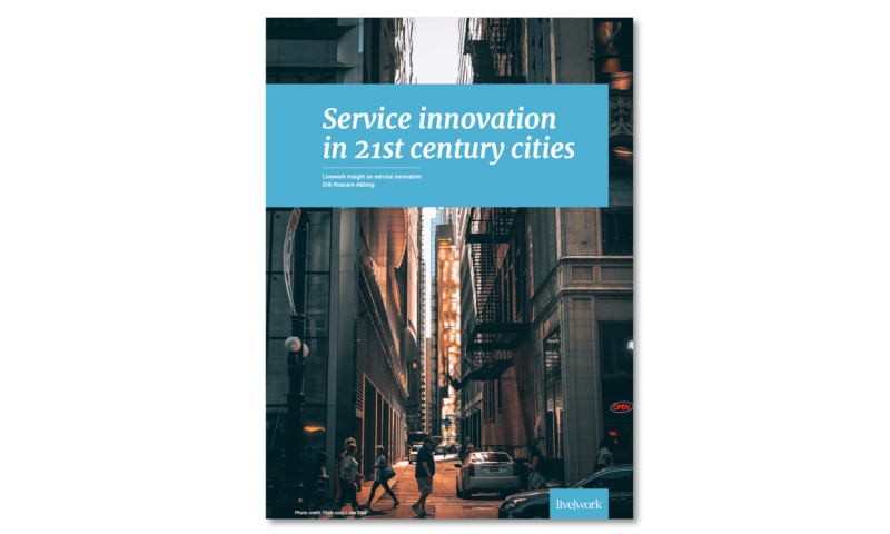 Service innovation in 21st century cities