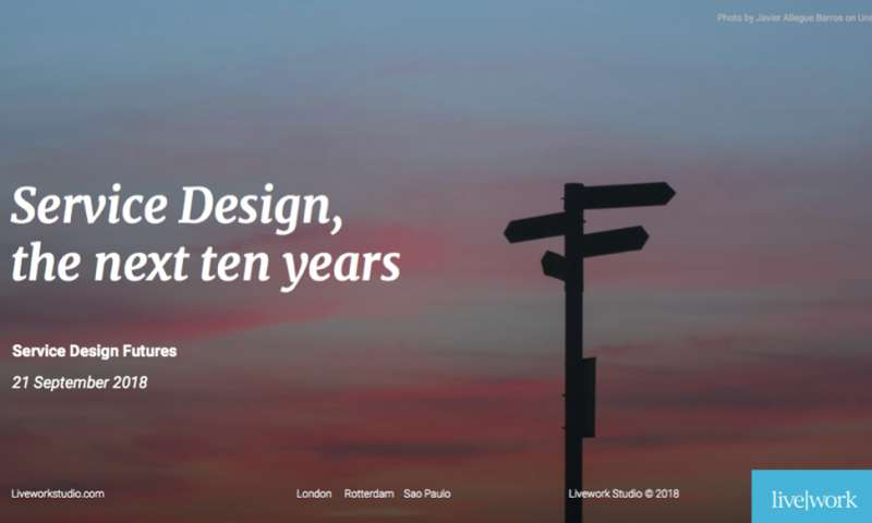 SDFutures: Service design, the next ten years.