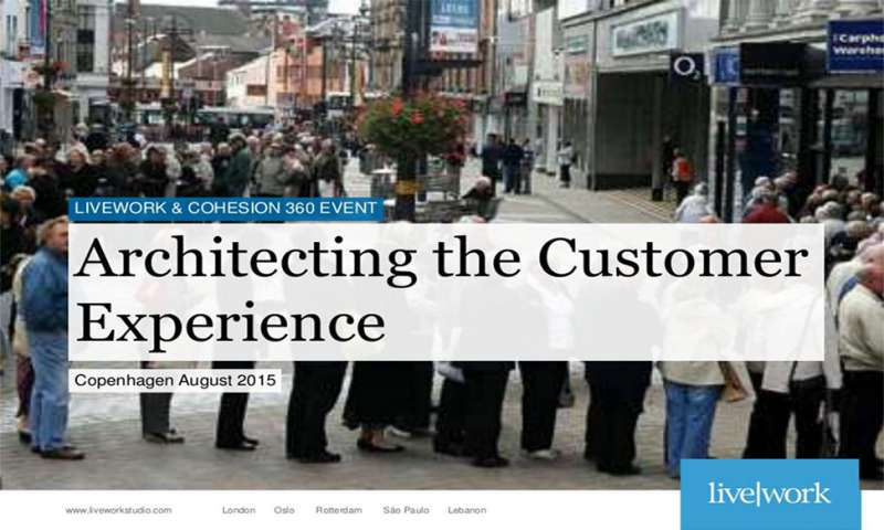 Architecting the Customer Experience