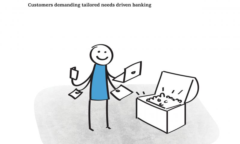 Customers demanding tailored needs driven banking