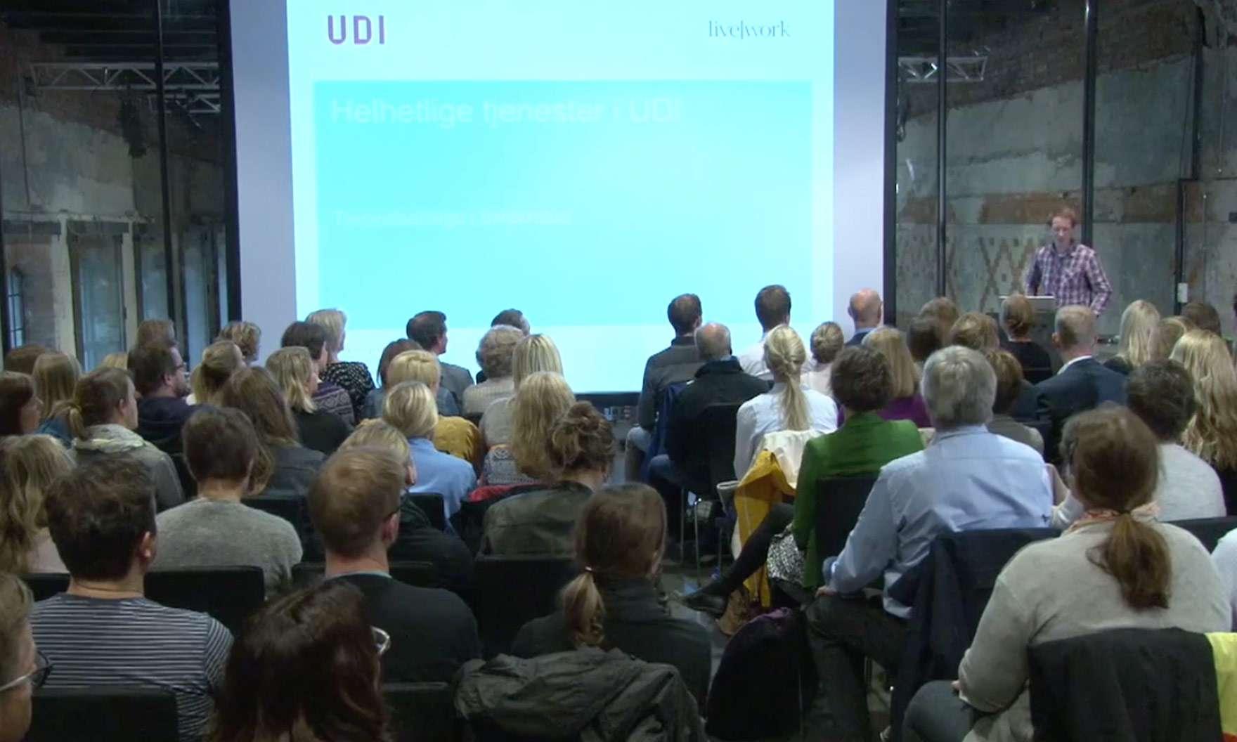 Helhetlige tjenester i UDI - tjenestedesign i byråkratiet