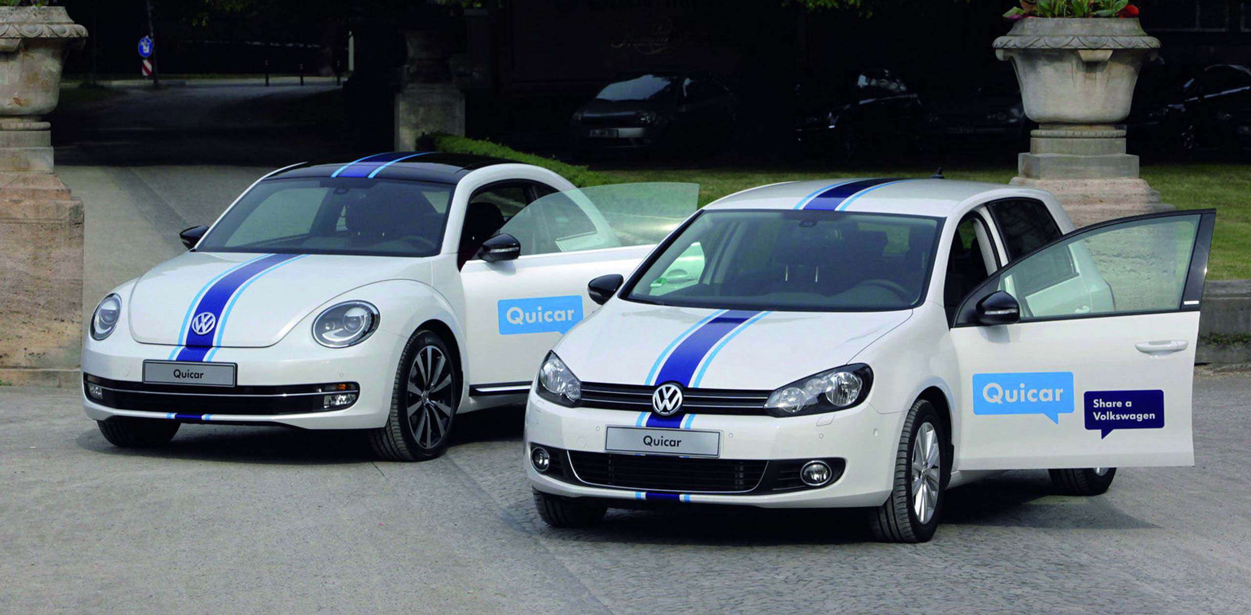 Volkswagen's Quicar is on the road