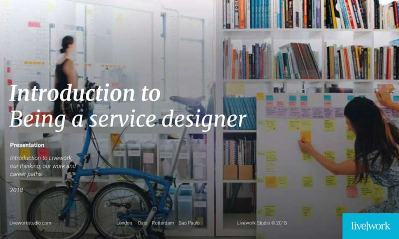 Introduction to being a service designer