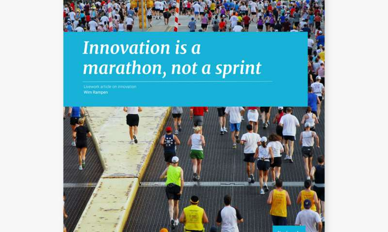 Innovation is a marathon, not a sprint