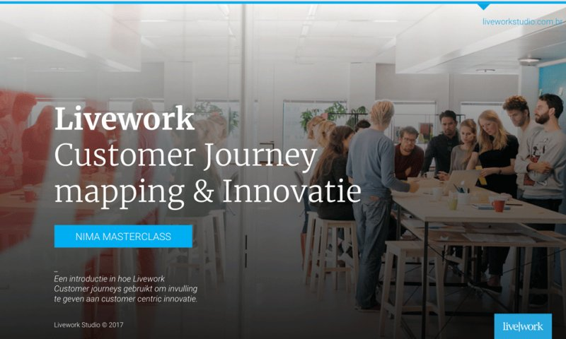 Customer Journey mapping & Innovatie