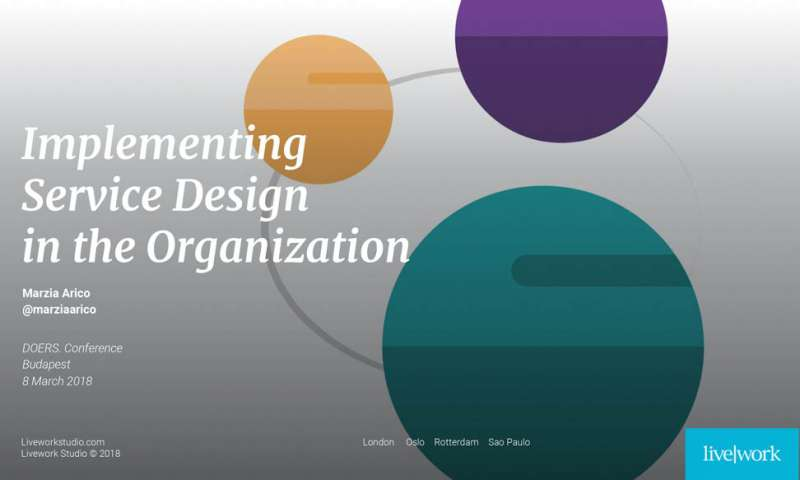 what is product and service design