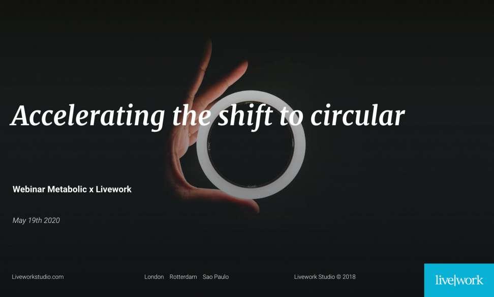 Accelerating the shift to circular - webinar