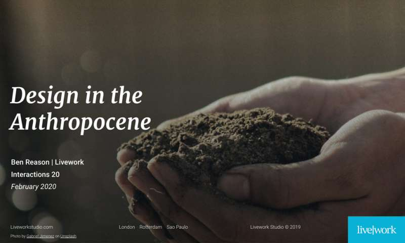 Design in the Anthropocene