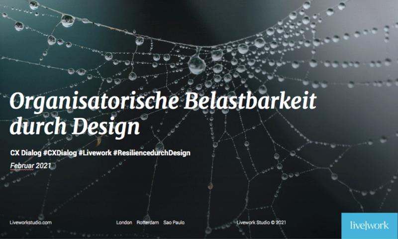 Organisatorische Belastbarkeit durch Design