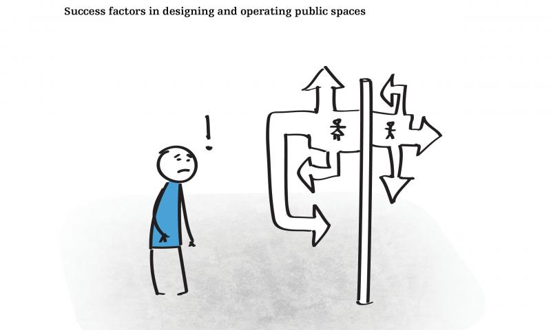 Success factors in designing and operating public spaces