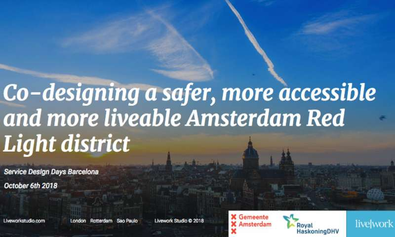 Co-designing a safer, more accessible and more liveable Amsterdam Red Light district
