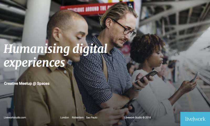 Humanising digital experiences