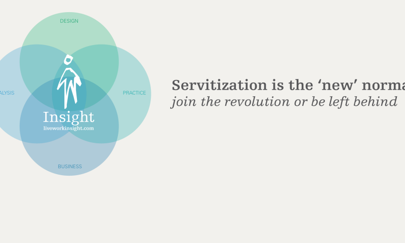 Servitization is the 'new' normal