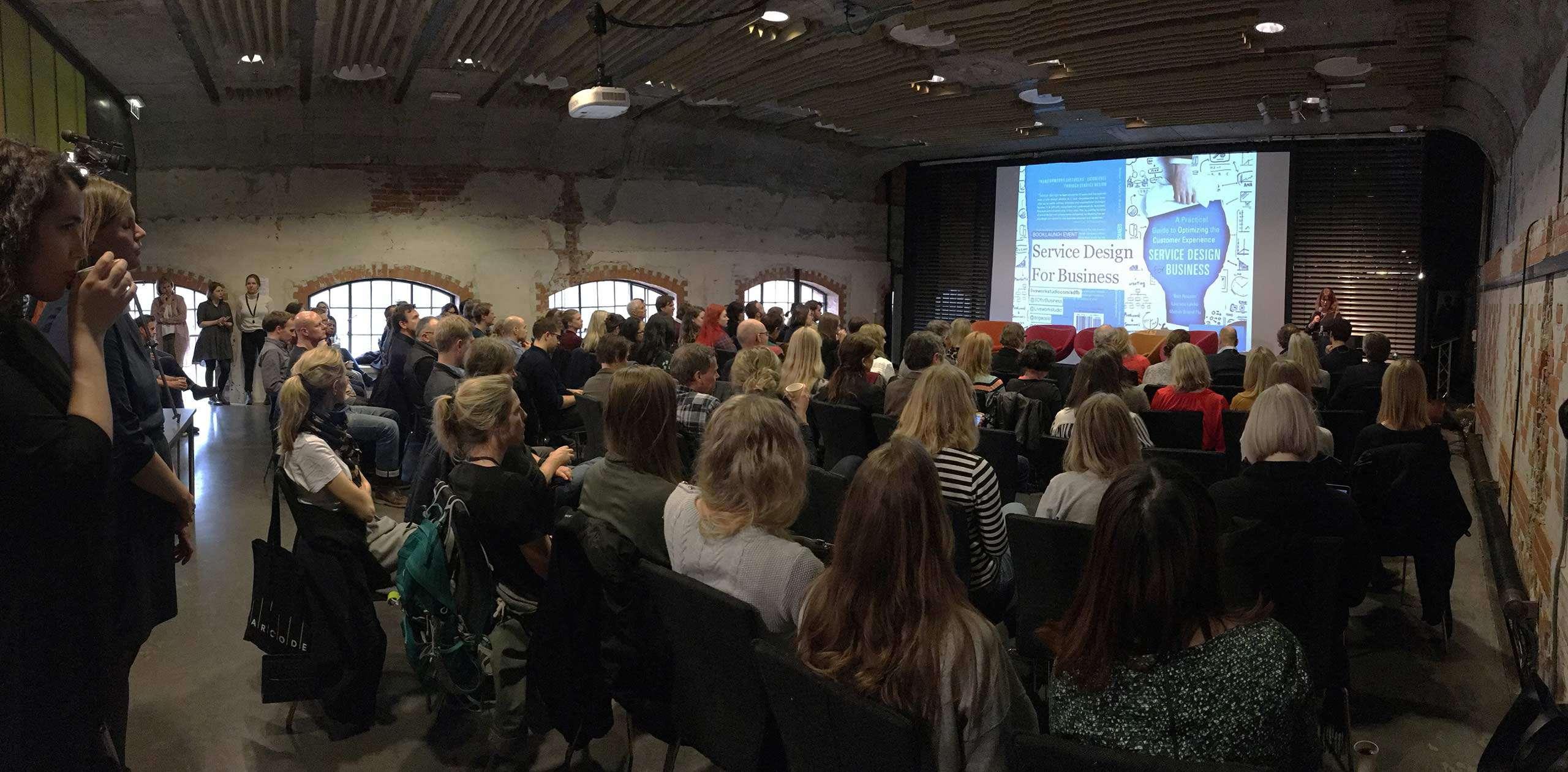 Service Design for Business book launch, Oslo