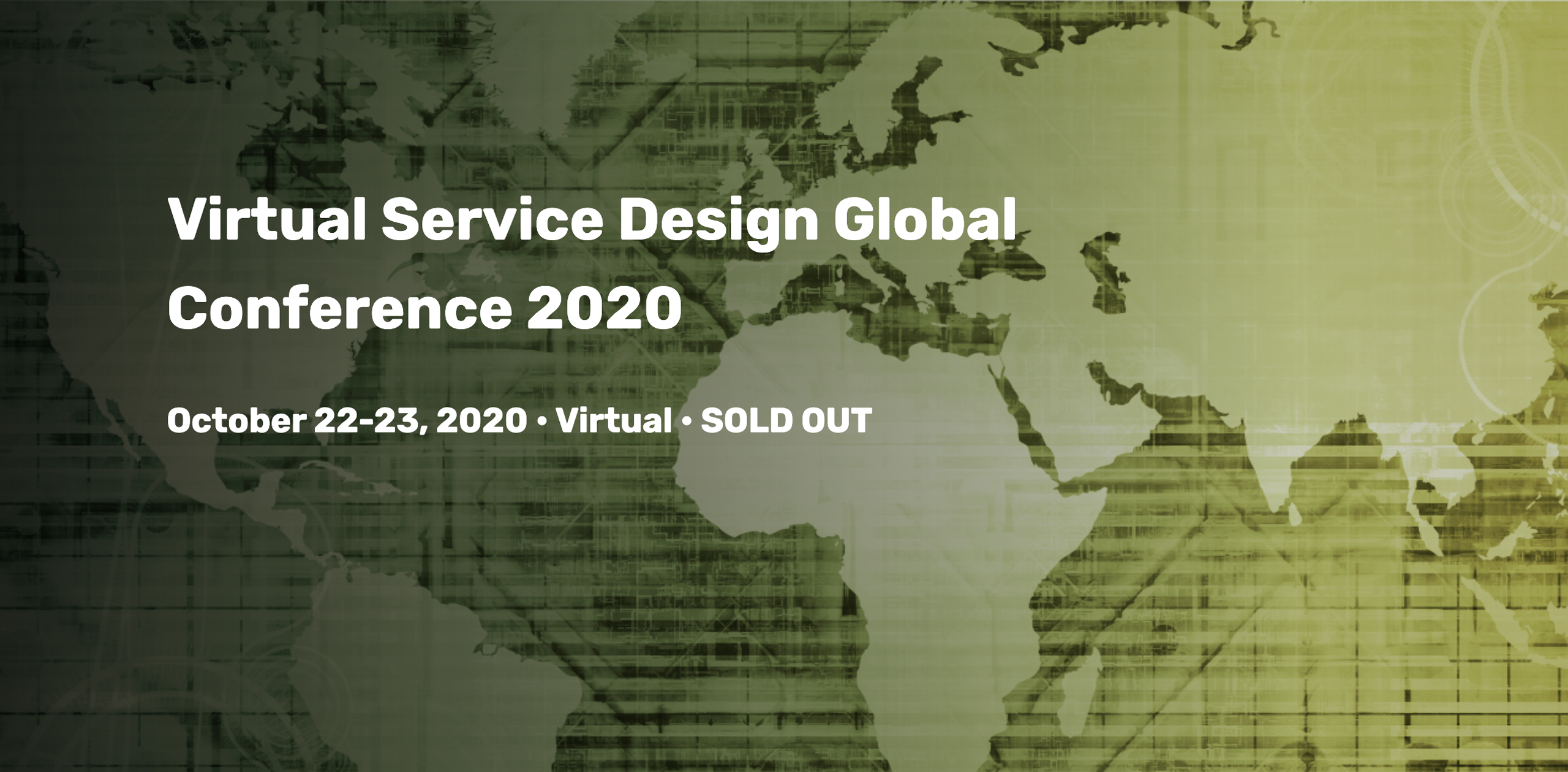 Virtual Service Design Global Conference 2020