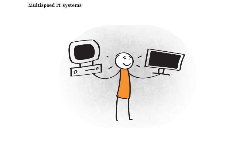 Multispeed IT systems