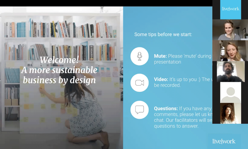 Webinar: a more sustainable business by design