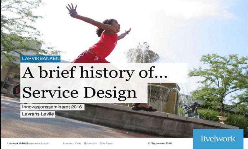 A brief history of…service design