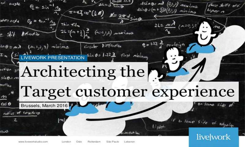 Architecting the target customer experience