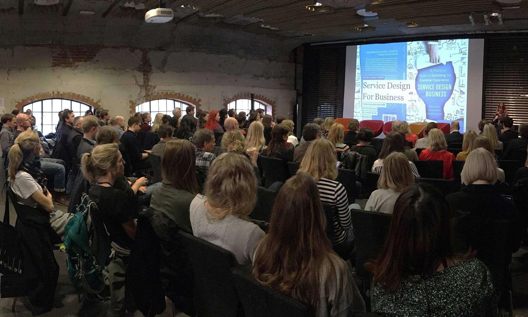 Service Design for Business book launch, DogA - Norwegian Centre for Design and Architecture, Oslo