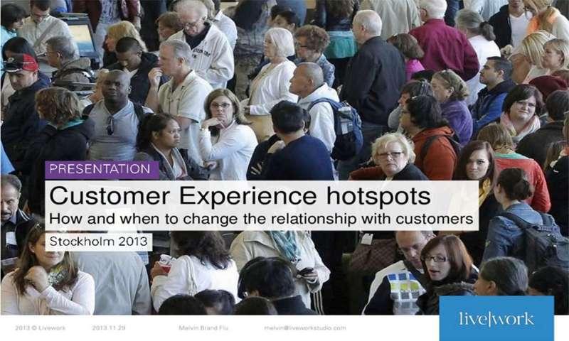 Customer Experience hotspots