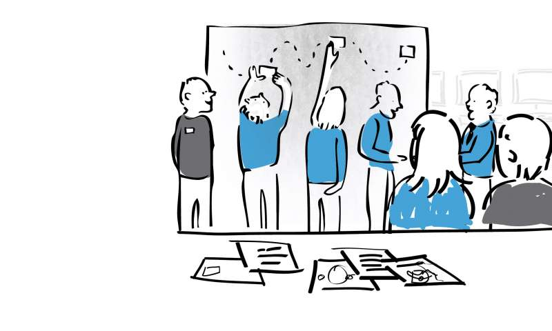 Service design brings people  out of the trenches