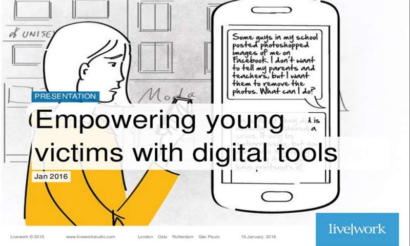 Empowering young victims of crime