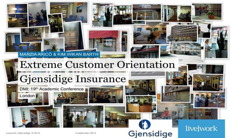 Extreme Customer Orientation Gjensidige Insurance