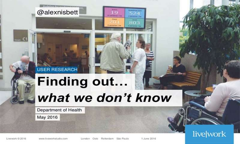 Finding out...what we don't know