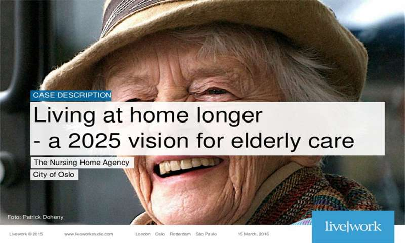 Living at home longer - a 2025 vision for elderly care