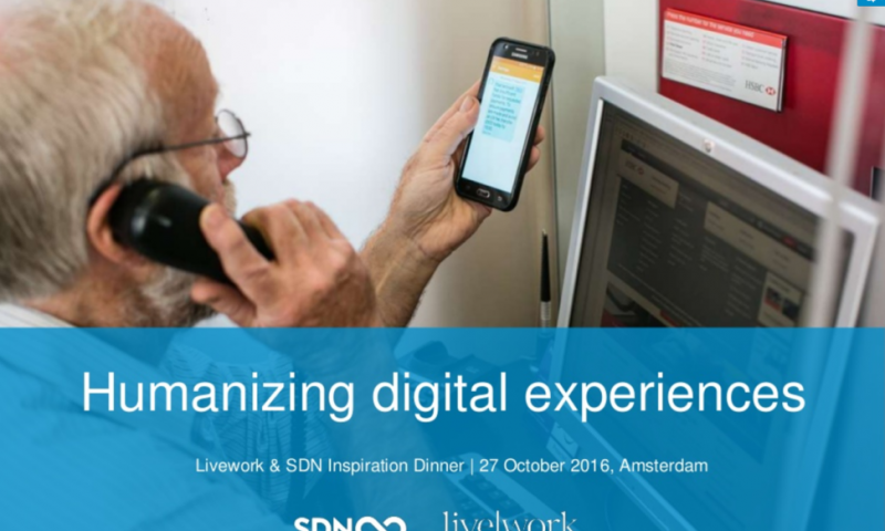 Humanizing Digital Experiences