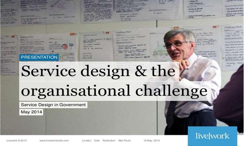 Service design in Government