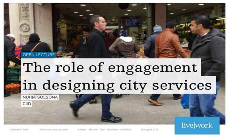 The role of engagement in designing city services