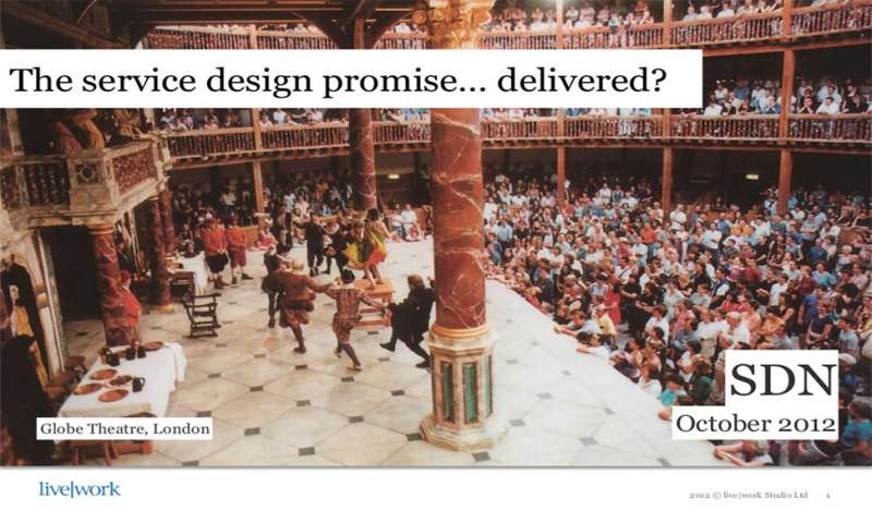The service design promise...delivered?