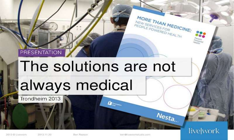 The solutions are not always medical