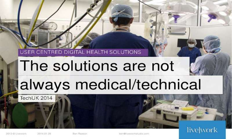 The solutions are not always medical/technical