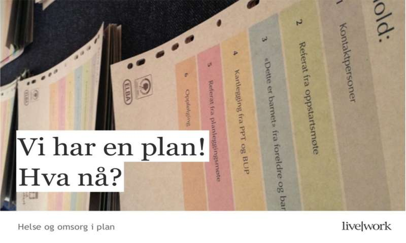 We have a plan! What's next!
