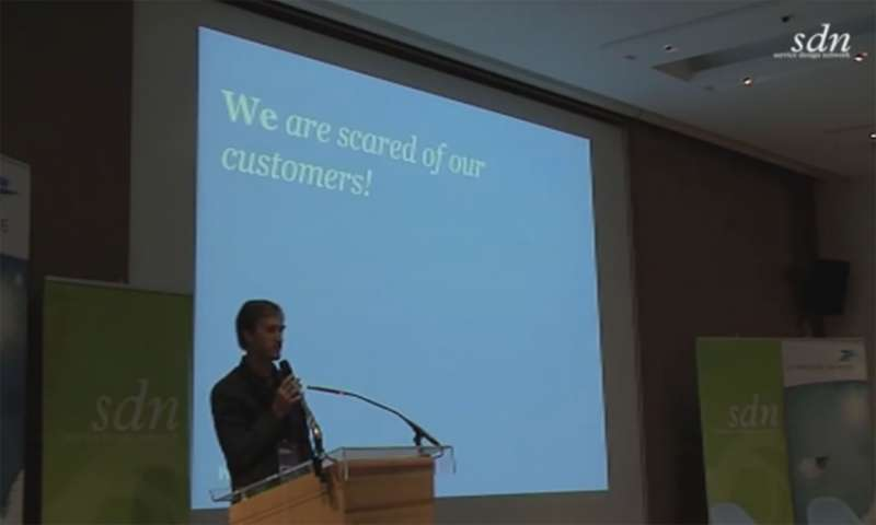 You are scared of your customers - delivering on the service design promise