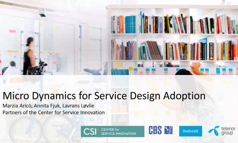 Micro Dynamics for Service Design Adoption