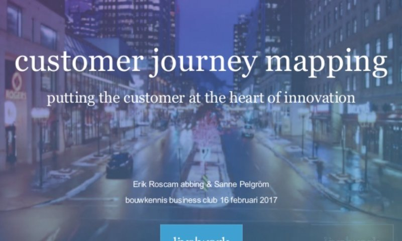 Customer Journey Mapping, putting the customer at the heart of innovation