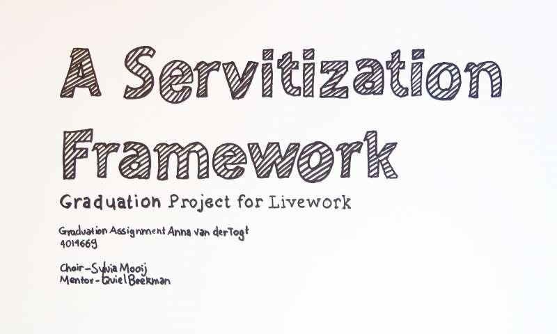 Servitization in a Nutshell