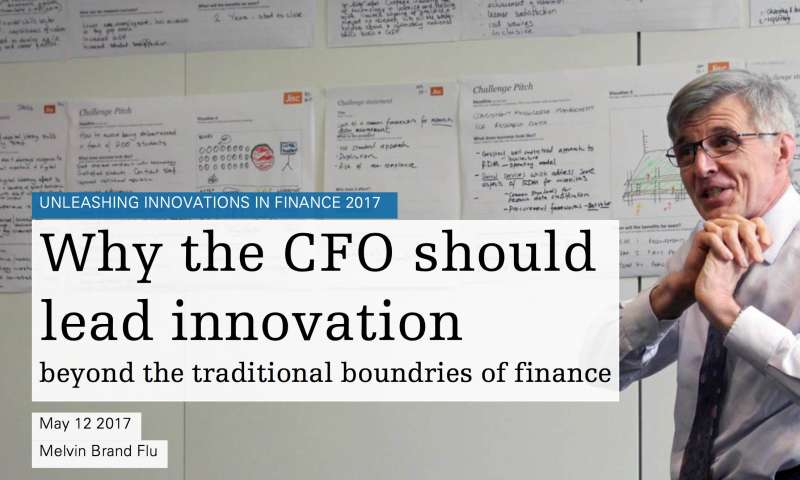 The CFO should lead innovation